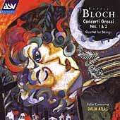 Bloch: Concerti Grossi no 1 & 2, etc / Atlas Camerata