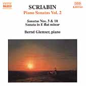 Scriabin Piano Sonatas Vol 2 / Bernd Glemser
