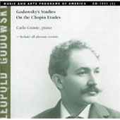 Godowsky: Studies on the Chopin Etudes / Carlo Grante