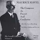 Maurice Ravel - The Composer as Pianist and Conductor