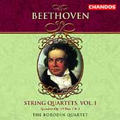 Beethoven: String Quartets Vol 1 / Borodin String Quartet
