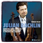 Beethoven, Shostakovich: Sonatas / Rachlin, Golan