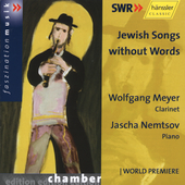 Jewish Songs Without Words / Meyer, Nemstov