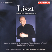 Liszt: Symphonic Poems Vol 1 / Noseda, BBC PO