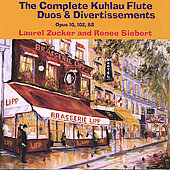 The Complete Kuhlau Flute Duos and Divertissements, Opus 10, 102, 68