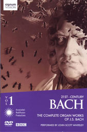 J. S. Bach: Complete Organ Works Vol. 1 / Whiteley [DVD]