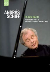 Bach: French Suites, Overture / Andras Schiff [2 DVD]