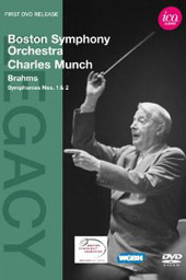 Brahms: Symphonies 1 & 2 / Charles Munch, Boston SO [DVD]