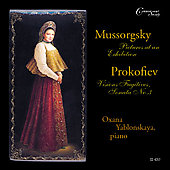 Oxana Yablonskaya plays Mussorgsky and Prokofiev