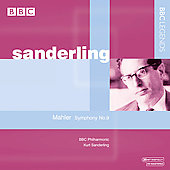 Mahler: Symphony no 9 / Sanderling, BBC PO