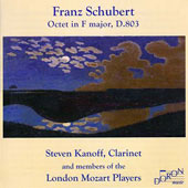 Schubert: Octet in F major / London Mozart Players, et al
