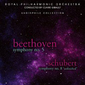 Beethoven, Schubert: Symphonies / Gibault, Royal Philharmonic Orchestra