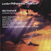 Beethoven: Symphony No 9 / Tennstedt, Popp, Murray, Johnson, Pape, et al
