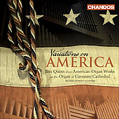 Ives: Variations on America, etc;  Copland, Barber, Cowell, Still, Paulus / Iain Quinn