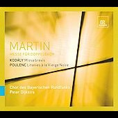 Martin, Kodaly, Poulenc: Mass for Two Four-part Choruses