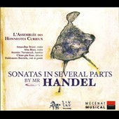 Sonatas in Several Parts by Mr. Handel
