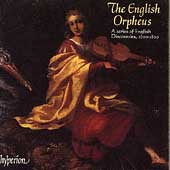 The English Orpheus - A Series of English Discoveries