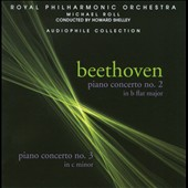 Beethoven: Piano Concertos Nos. 2 & 3 / Michael Roll