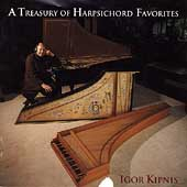A Treasury of Harpsichord Favorites / Igor Kipnis