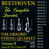 Beethoven: The Complete Quartets Vol II / Orford Quartet