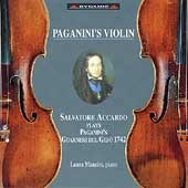 Paganini's Violin / Salvatore Accardo, Laura Manzini