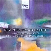 Joseph Marx: Rhapsodie; Erich Wolfgang Korngold: Suite / New York Piano Quartet