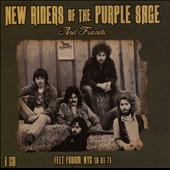 New Riders of the Purple Sage: Felt Forum, NYC 18-03-73 [Box] *