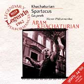 Khachaturian: Spartacus / Khachaturian, Vienna Philharmonic