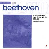 Beethoven: Piano Sonatas no 8, 14,, 17, 21, etc / Buchbinder