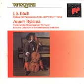 Bach: Suites for Violoncello Solo / Anner Bylsma