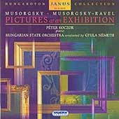 Mussorgsky: Pictures at an Exhibition / Koczor, Németh, etc