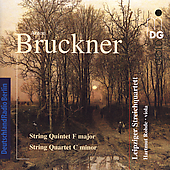 Bruckner: String Quintet, etc / Rohde, Leipzig SQ
