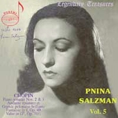 Legendary Treasures - Pnina Salzman - Chopin
