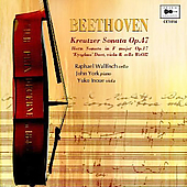 Beethoven: Kreutzer Sonata Op. 47, etc / Wallfisch, et al
