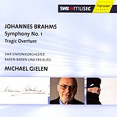 Brahms: Symphony no 1, etc / Gielen, et al