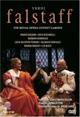 Verd: Falstaff / Giulini, Royal Opera House / Bruson, Wildermann, Egerton [DVD]