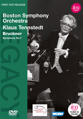 Bruckner: Symphony No. 7 / Klaus Tennstedt, Boston SO [DVD]