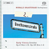 Beethoven: Complete Works for Solo Piano Vol 2 / Brautigam