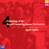 Anthology of the Royal Concertgebouw Orchestra Vol 4