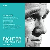 Richter The  Master Vol 5 - Schubert