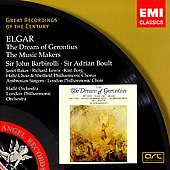 Elgar: Dream of Gerontius, Music Makers / Barbirolli, et al