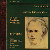 Franck: Complete Works for Organ / Joris Verdin