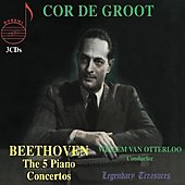 Legendary Treasures - Beethoven: The 5 Piano Concertos / Groot, et al