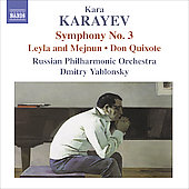 Karayev: Symphony no 3, Don Quixote, etc / Dmitry Yablonsky, Russian PO
