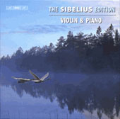 The Sibelius Edition Vol 6 - Violin and Piano / Kuusisto, Gr&auml;sbeck, Sato, Sparf, Forsberg
