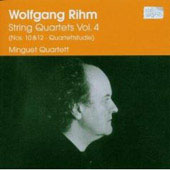 Rihm: String Quartets Vol 4 / Minguet Quartett