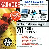 Karaoke: Karaoke: Greatest Country Love Songs with Karaoke Edge