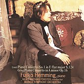 Liszt, Grieg: Piano Concertos / Fujiko Hemming