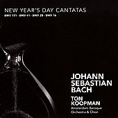 Bach: New Year's Day Cantatas / Koopman, York, Pr&eacute;gardien, Agnew, Mertens, et al