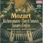 Mozart: Church Sonatas / Martin Haselb&ouml;ck
